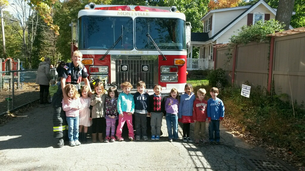 Fire Safety Week at Transfiguration Pre-School