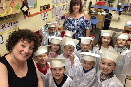 Moving on to kindergarten !